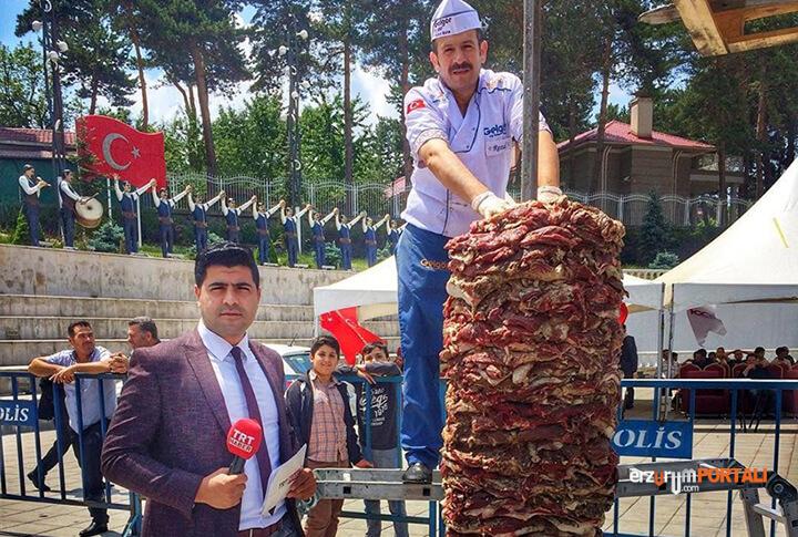 Erzurum Cağ Baş Bar Rekor Denemesi
