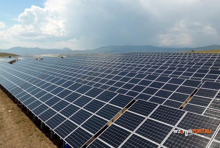 Erzurum Güneş Enerjisi Santrallerine Kavuşuyor