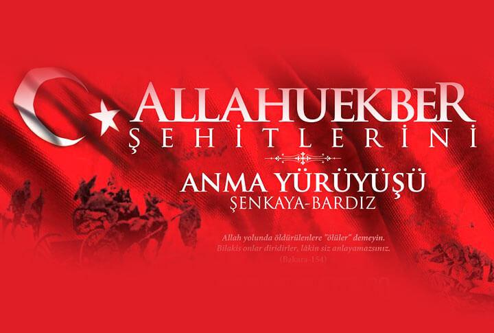 Allahuekber Şehitlerini Anma Yürüyüşü