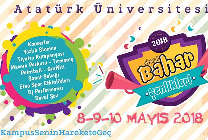 Atatürk Üniversitesi Bahar Şenlikleri