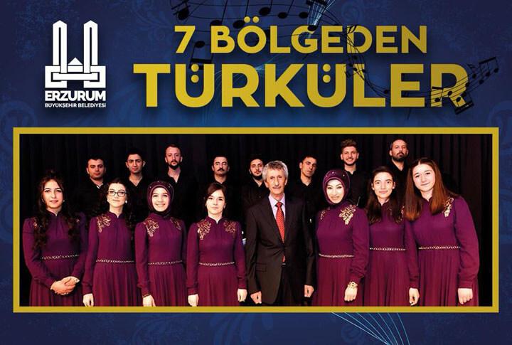 7 Bölgeden Türküler