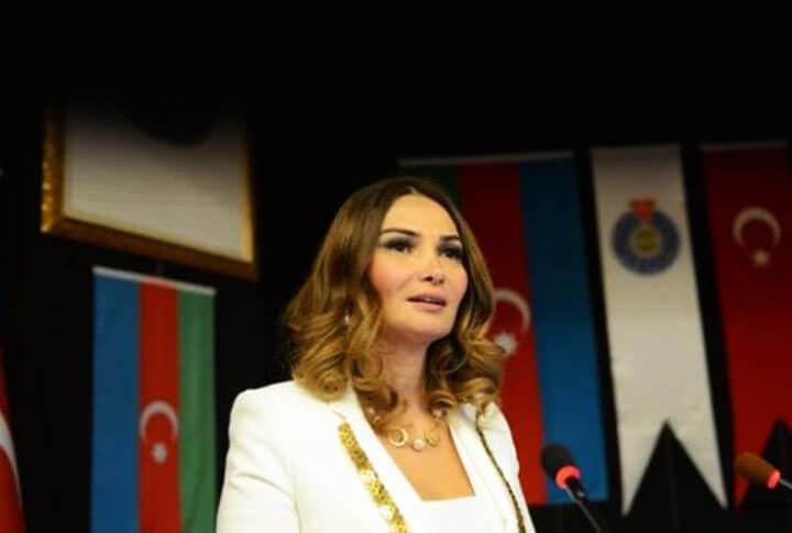 'Afrin'de Canımı Veririm' Diyen Azerbaycan'ın Nehehatun'u Paşayeva Erzurum'a Geliyor