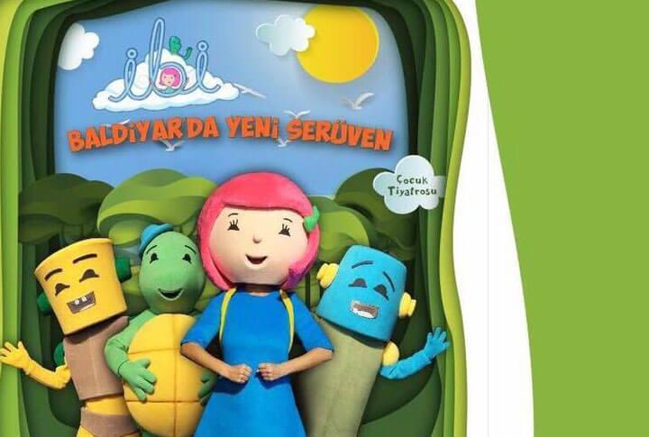 'İbi Baldiyarda Yeni Serüven' Çocuk Tiyatrosu Erzurum'da