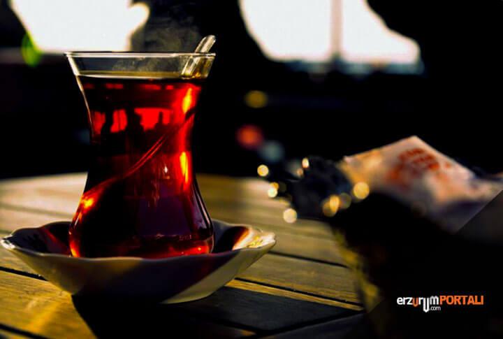7 Maddede Erzurum'da Ayrı Bir Yere Sahip Çay Kültürü