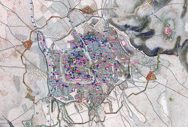 Türkiye'de Bir İlk! Erzurum Şehrinin 400 Yıllık Haritasını Hazırlandı