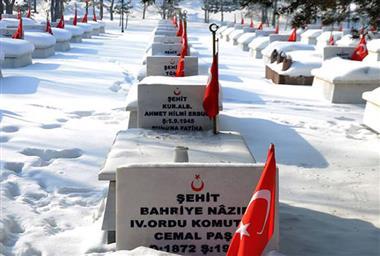 İttihat ve Terakki Cemiyeti Önderlerinden Cemal Paşa'nın Karskapı Şehitliği'nde Yattığını Biliyor Muydunuz?