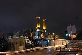 Erzurum'da Gece Fotoğrafları
