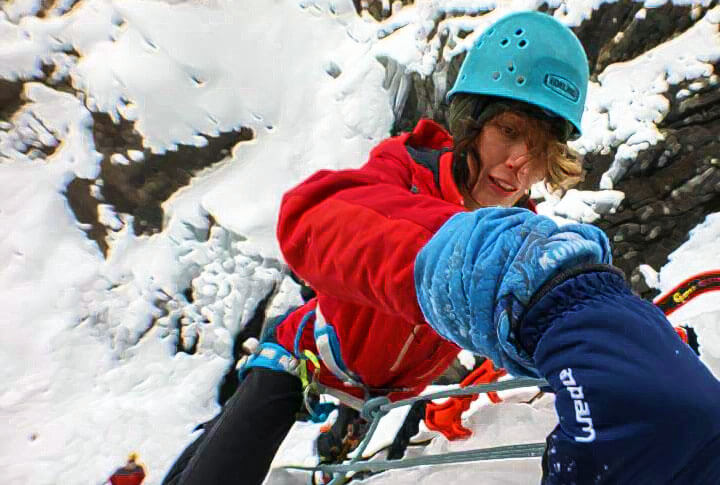 Erzurum Buz Tırmanış Festivalinden Nefes Kesen Görüntüler