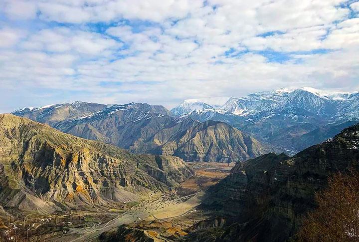 2.272 Rakımda Dağcılık Dağı Uzundere Bozdağ'dan Muhteşem Manzaralar