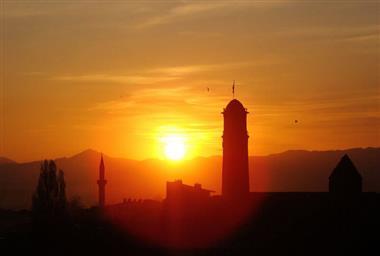 Bakmaya Doyamayacağınız Muhteşem 10 Fotoğraf İle Erzurum'da Gün Batımı