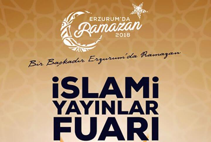 Erzurum'da İslam Yayınları Fuarı
