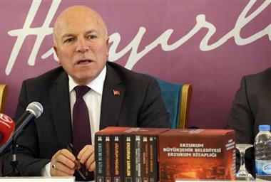 Büyükşehir,  Erzurum Kitaplarını Bir Arada Topladı!