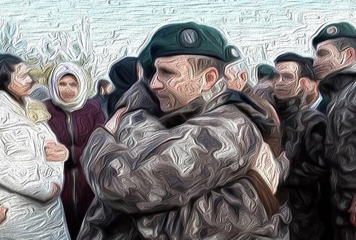 Erzurum'da PÖH'lerin Hepsi 'Afrin' Gönüllüsü Olunca Aralarında Kura Çekildi