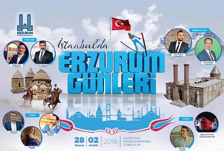 İstanbul'da Erzurum Günleri!
