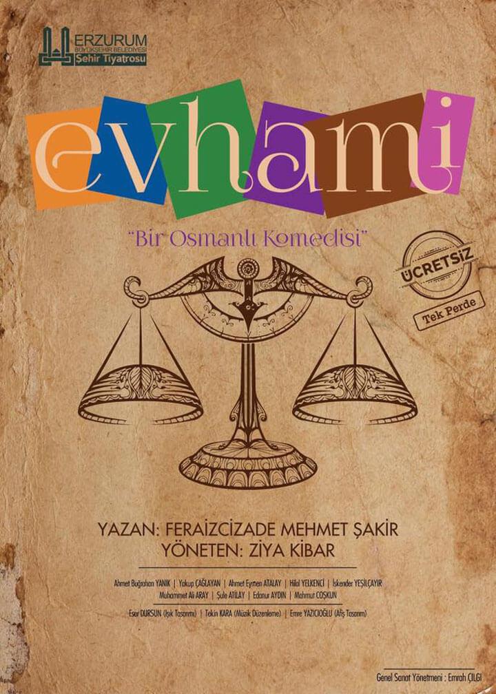 Bir Osmanlı Komedisi Evhami
