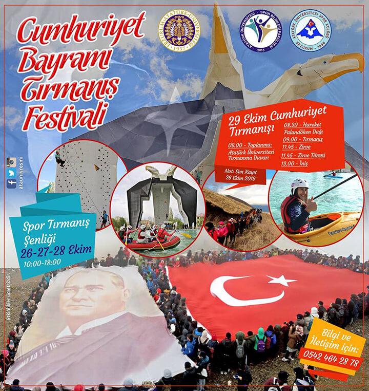 AÜ'de Cumhuriyet Tırmanış Festivali!