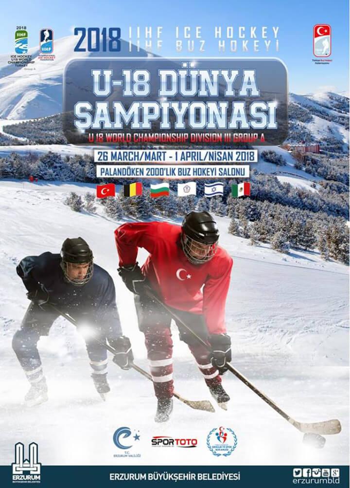 U18 Buz Hokeyi Dünya Şampiyonası Erzurum IIHF