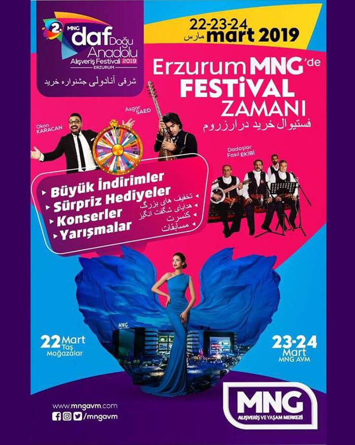 2. Doğu Anadolu Alışveriş Festivali (DAF)