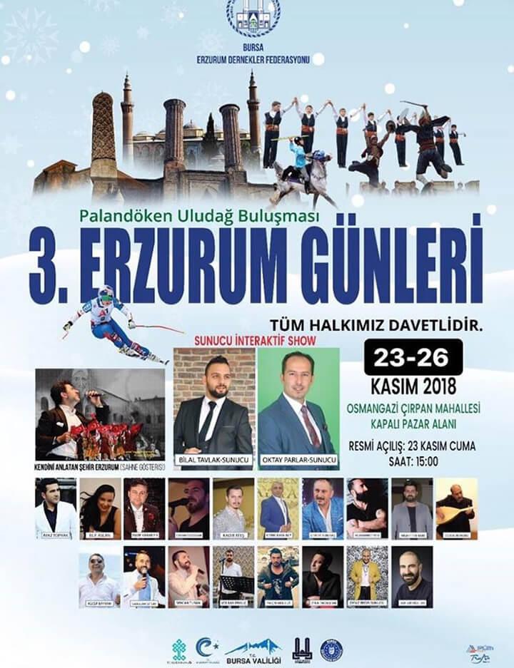 Bursa Erzurum Günleri