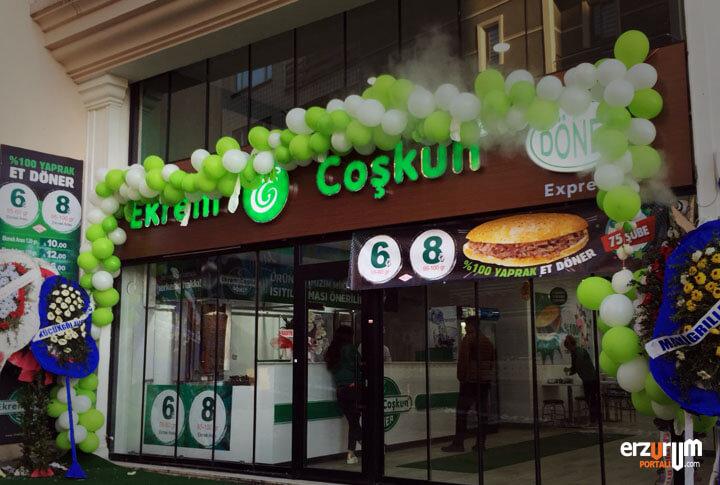 Erzurum Ekrem Çoşkun Döner