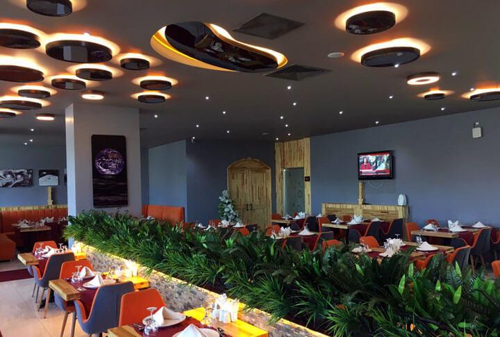 Erzurum Atatürk Üniversitesi Turizm Fakültesi Uzay Restoran