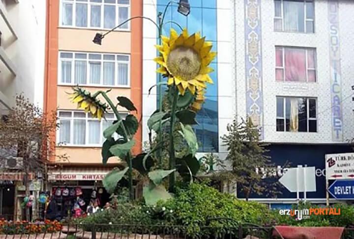 26 Tekirdağ Malkara Ayçiçeği Heykeli