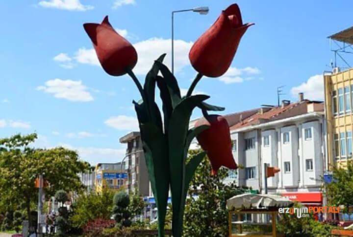 Edirne Lale heykeli
