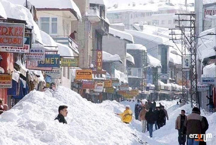 Erzurum Kar Yağışı