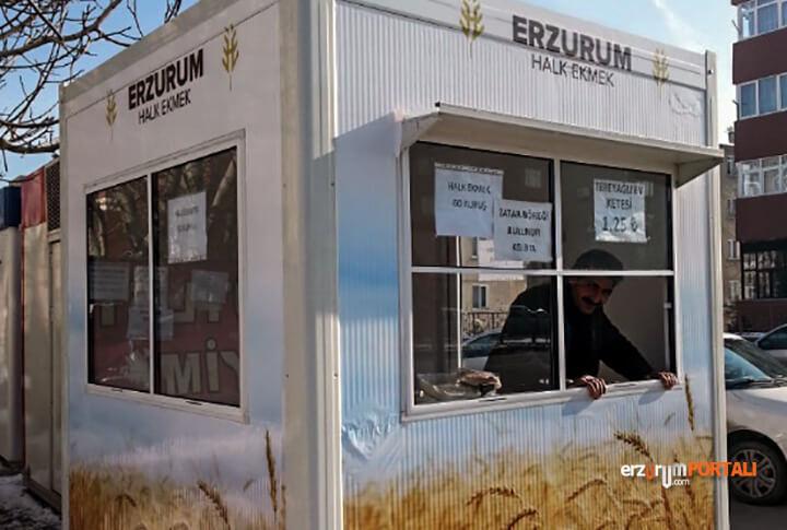 Erzurum Halk Ekmek Satış Noktaları