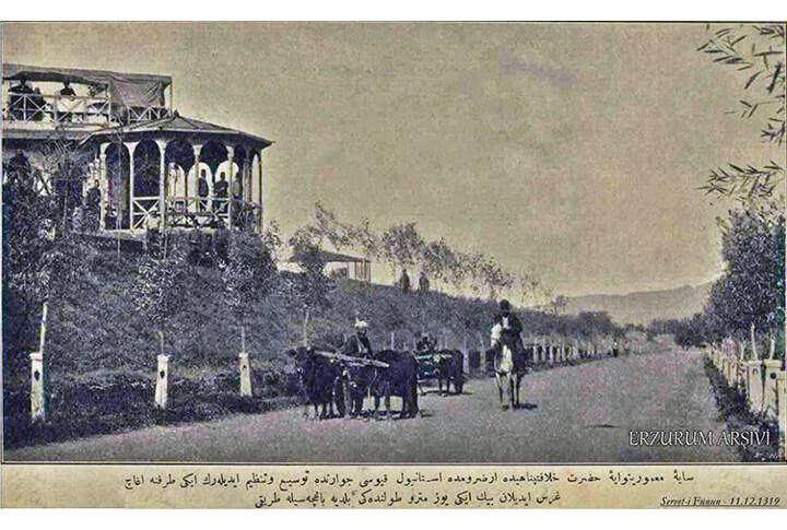 Erzurum'da ki Osmanlı Dönemi 'Millet Bahçesi' Neresiydi?