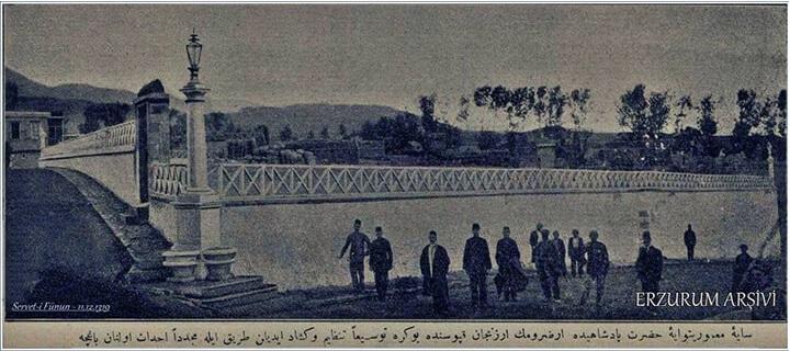 Erzurum'da Osmanlı Dönemi Millet Bahçesi
