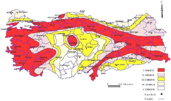 Erzurum Deprem Riski