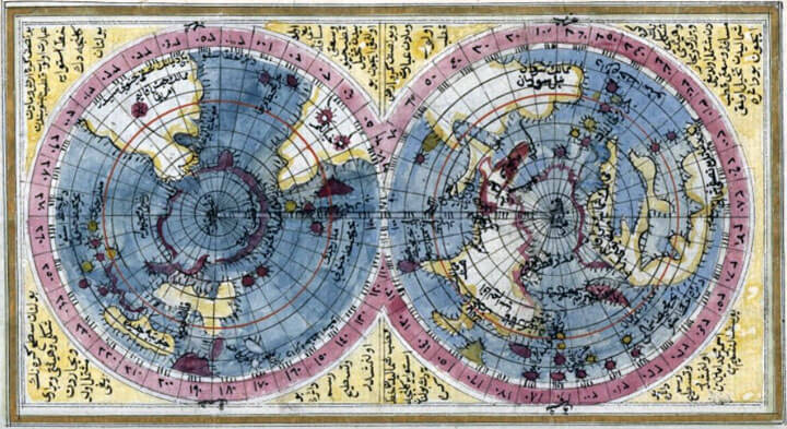 İbrahim Hakkı Hz.Dünya Haritası