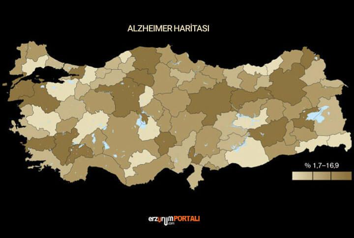 erzurum Alzheimer Haritası