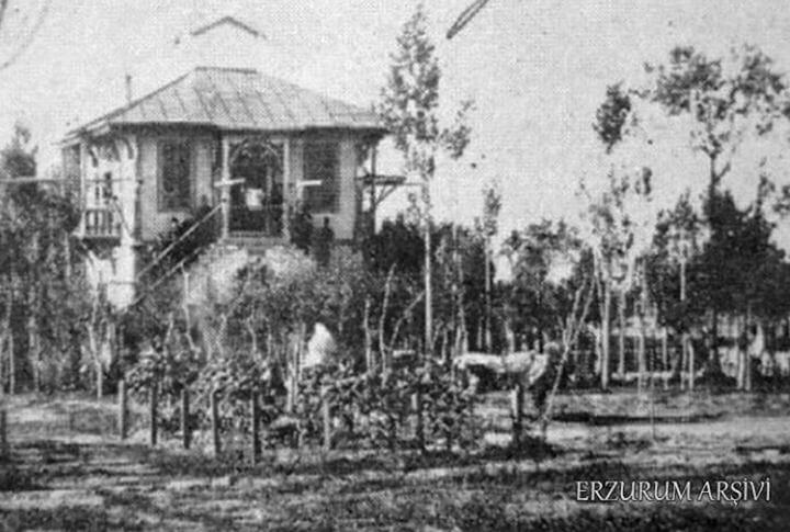Erzurum'da Osmanlı Dönemi Millet Bahçesi Köşk