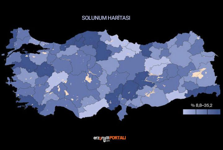 Erzurum Solunum Haritası