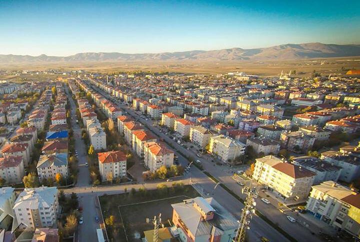 Erzurum Aziziye İlçesi