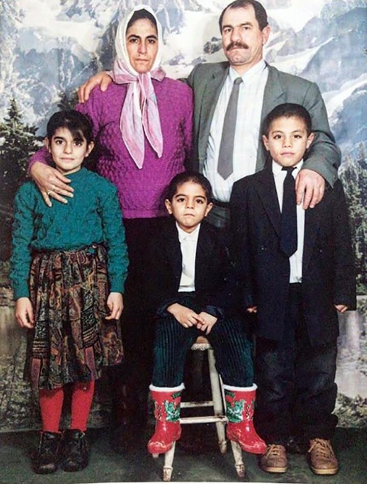 Nusret'in Çocukluk Yıllarına Ait Fotoğraflar