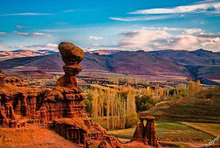 Erzurum Narman Peri Bacaları