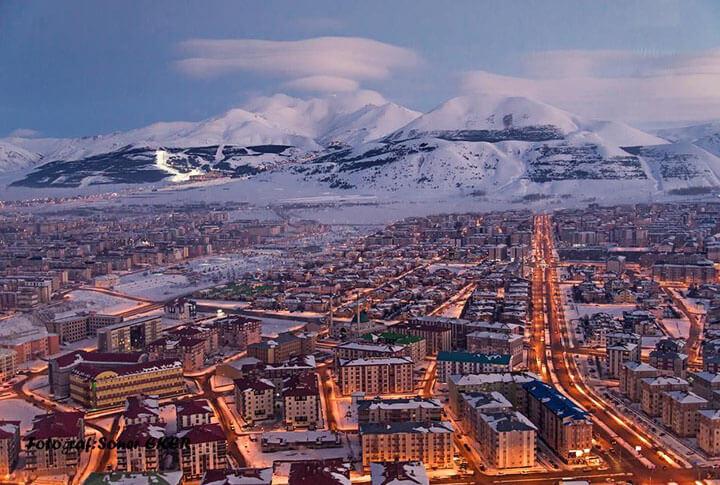 Kuşbakışı Erzurum