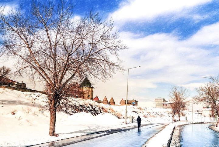 Mavi Beyaz Gevurboğan Mahallesi