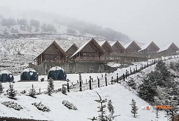 Kış Turizminin Gözdesi Palandöken'e Sezonun İlk Karı Yağdı!