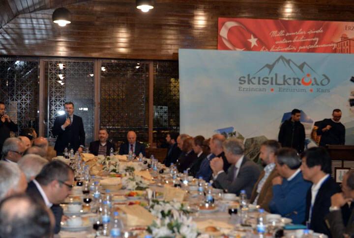 Erzurum Kar Raftingi Heyecanı