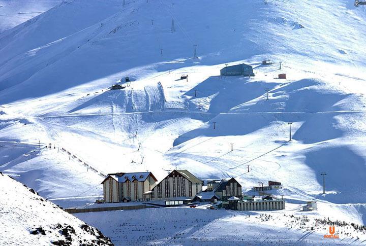 Büyüleyici Doğu Erzurum Palandöken Kayak Merkezi