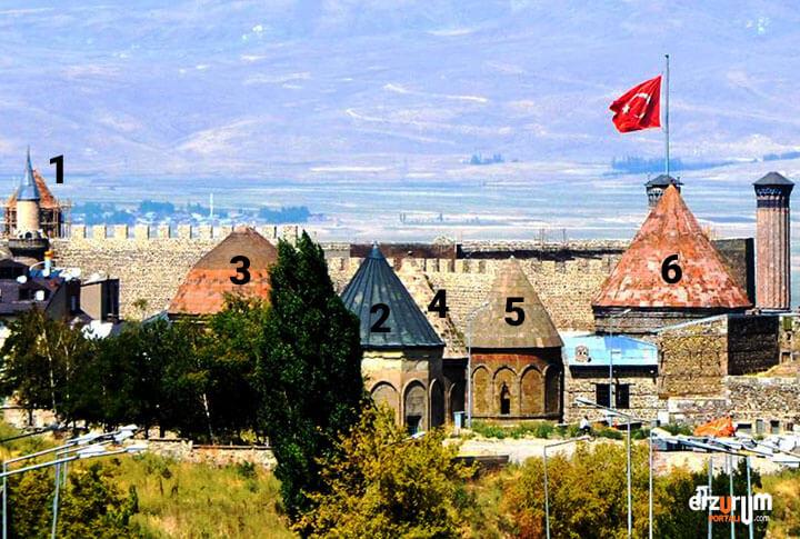Erzurum'da 6 Kümbet