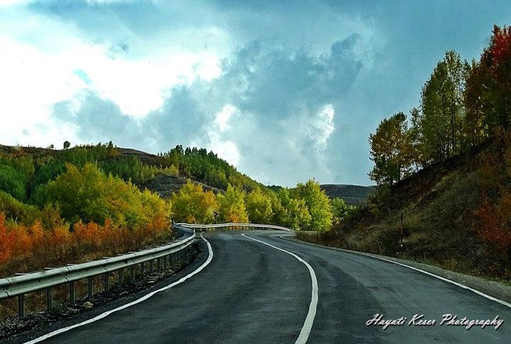 Erzurum'da Sonbahar