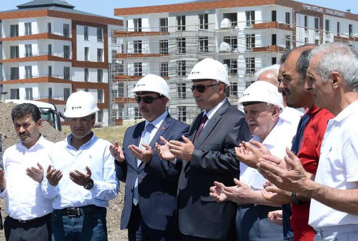 Erzurum'da Eğitime Okul Desteği