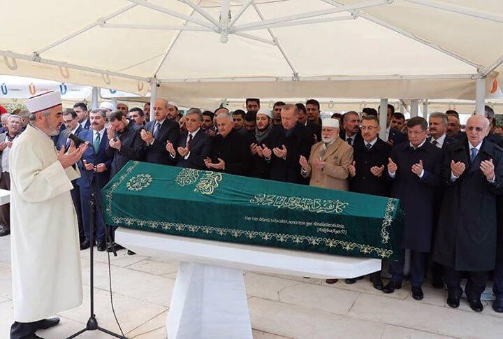 Abdullah Tivnikli Cenaze Töreni