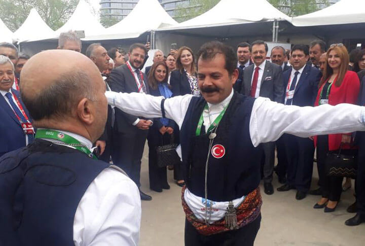 Rıfat Hisarcıklıoğlu Erzurum Standını Ziyaret Etti