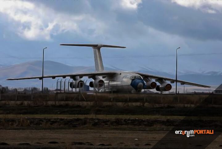 Erzurum'da Gürcistan'ın Unuttuğu Uçak Kafe Olma Yolunda